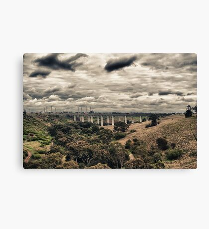 Western Ring Road Canvas Print