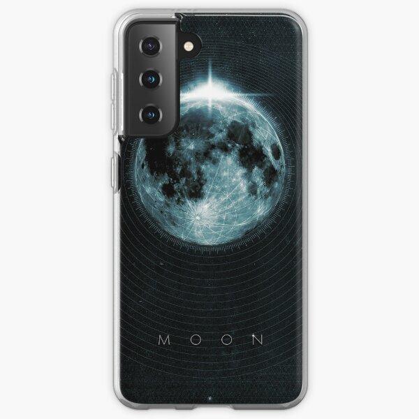 Mond Samsung Galaxy Flexible Hülle