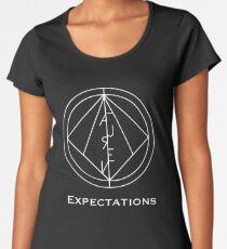 Camiseta premium para mujer Lauren Jauregui Expectations
