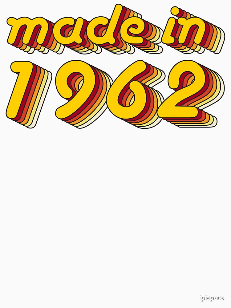 Made in 1962 (Yellow&Red) by ipiapacs