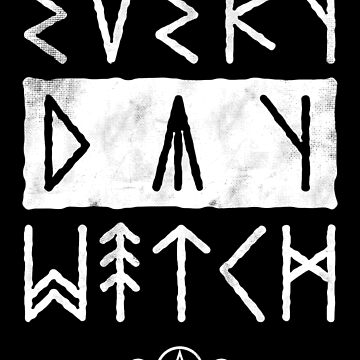 Every Day Witch - Occult Runes - Goth by Nemons