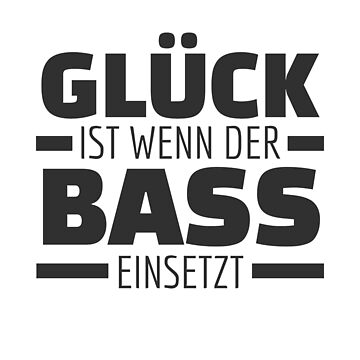 Luck is when the bass starts! Techno Raver by Team150Designz
