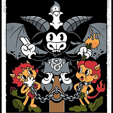The Devil - XV Tarot Card -Baphomet by Nemons
