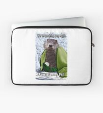 It's Groundhog Day Again Laptop Sleeve