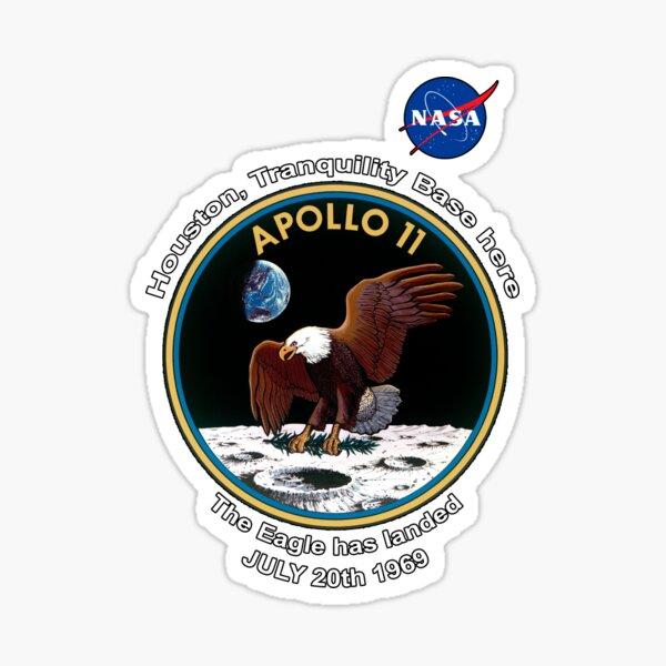 NASA Apollo The Eagle has landed Sticker