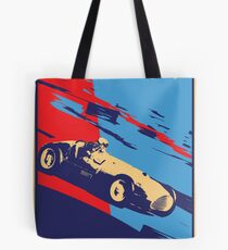 post futurist communist racing poster Tote Bag