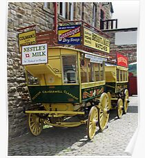 One Horse Power Bus Poster