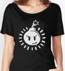 Funny Bomb - Black T Women's Relaxed Fit T-Shirt
