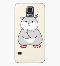 Tam the Tiny Hamster, thinking face. Case/Skin for Samsung Galaxy