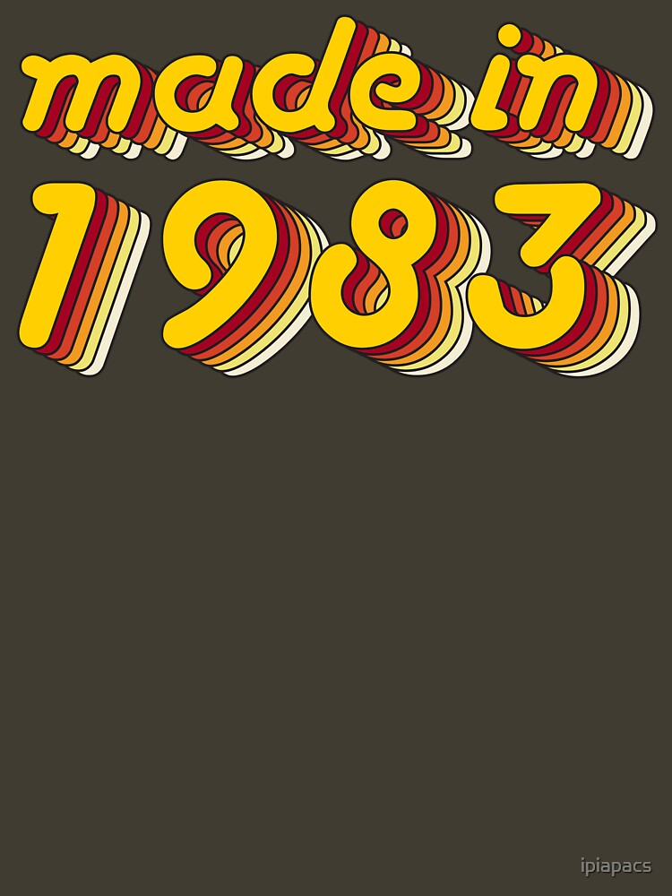 Made in 1983 (Yellow&Red) by ipiapacs