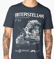 Interstellar Wormhole Handshake Men's Premium T-Shirt
