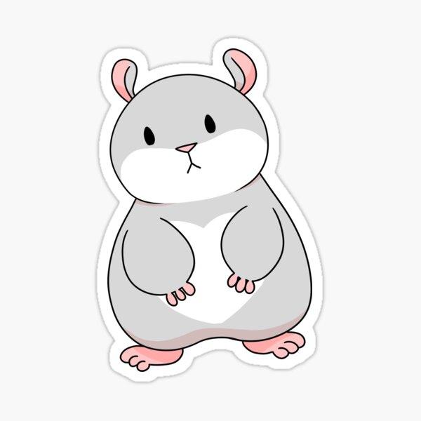 Tam the Tiny Hamster. Sticker
