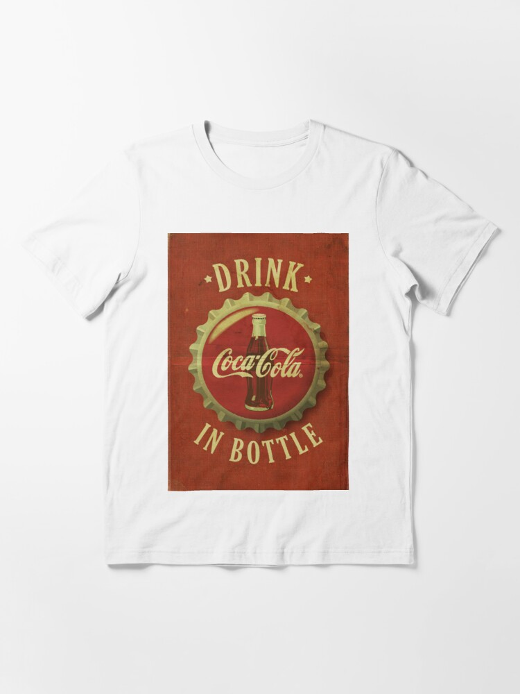 X-Large   FREE SHIPPING Coca-Cola Bottle Cap Tee Shirt