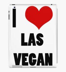 I love Las Vegan iPad Case/Skin