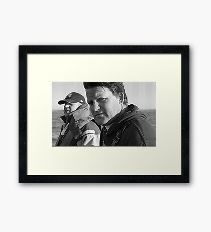 Dave's Mad About Shellfish Framed Print