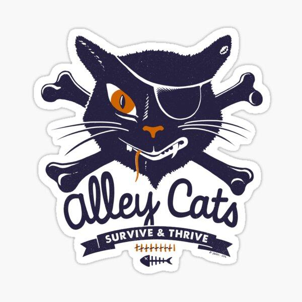 Alley Cats Sticker
