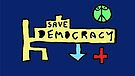 Save Democracy by Albert