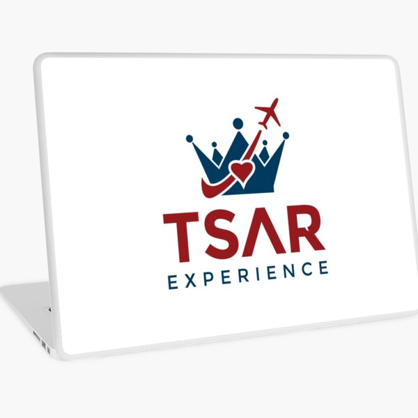 Tsar Experience Logo sans Circle design Laptop Skin