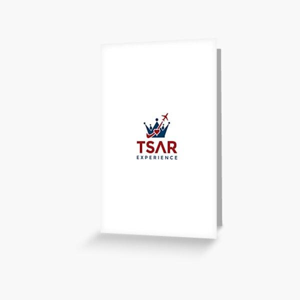 Tsar Experience Logo sans Circle design Greeting Card