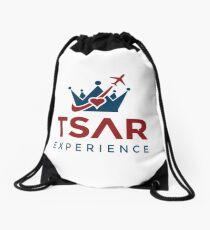 Tsar Experience Logo sans Circle design Drawstring Bag