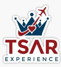 Tsar Experience Logo sans Circle design Sticker