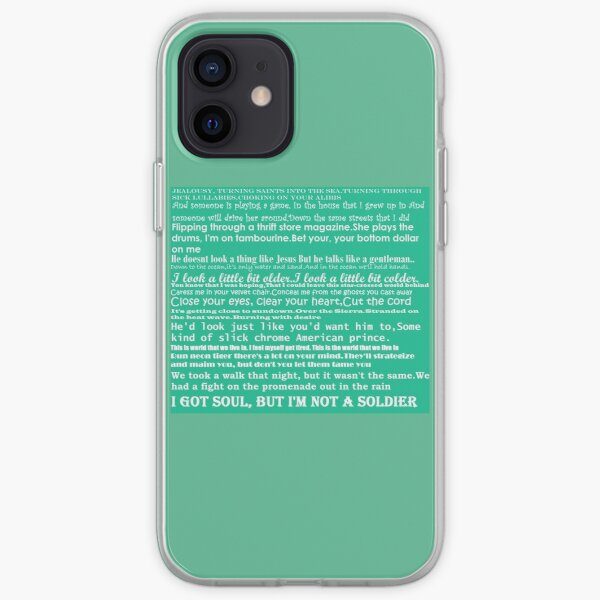 the killers quotes iPhone Soft Case
