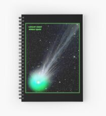 LOVEJOY COMET : Hubble Telescope Image Print Spiral Notebook