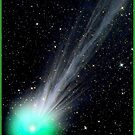 LOVEJOY COMET : Hubble Telescope Image Print by posterbobs