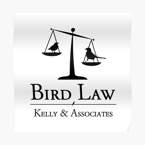 Bird Law Charlie Kelly It's Always Sunny in Philadelphia Poster
