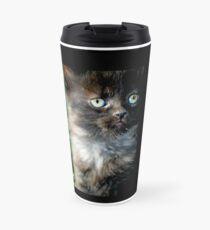 Bright Eyes the Kitten / Cat Travel Mug