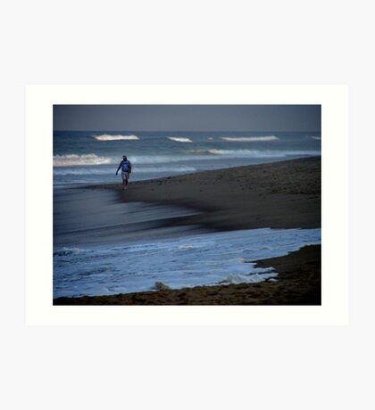 Man and the Sea Art Print