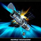 HUBBLE TELESCOPE: Outerspace Image Print by posterbobs