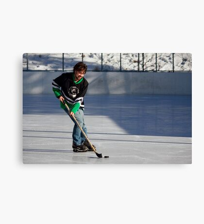 Pond Hockey I Canvas Print