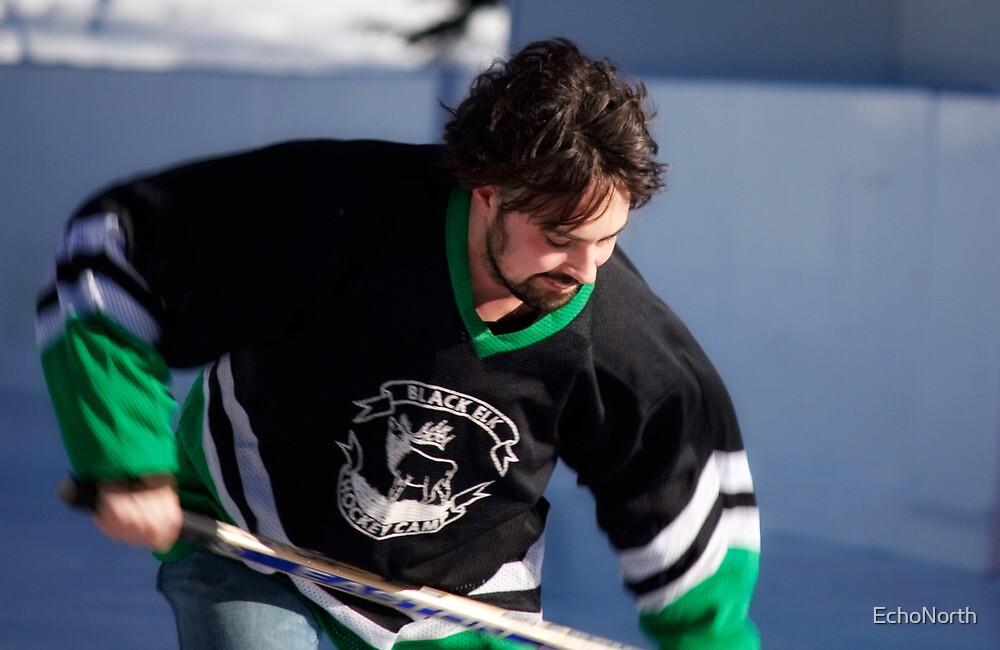 Pond Hockey II by EchoNorth