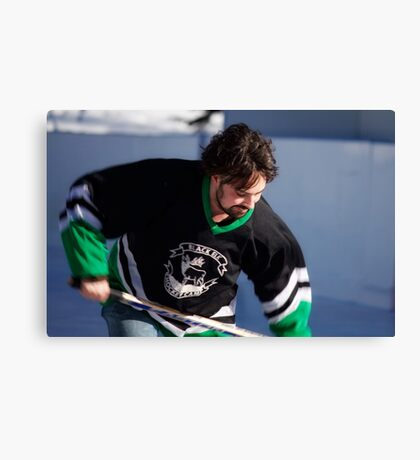 Pond Hockey II Canvas Print