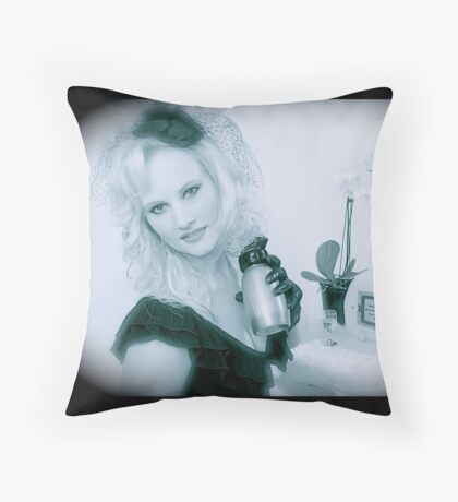 Victoria Film Noir  Throw Pillow