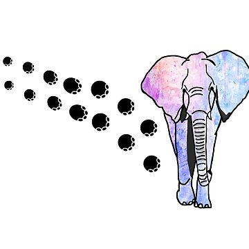 Elephant Footprints by imphavok