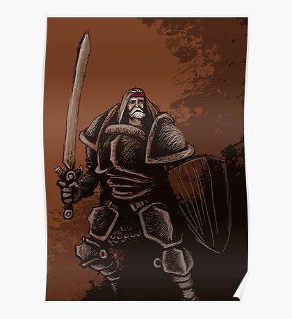Arthur Pendragon, High King of Britain Poster