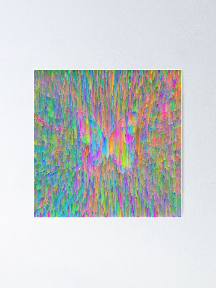 Alternate view of Abstract butterfly Poster