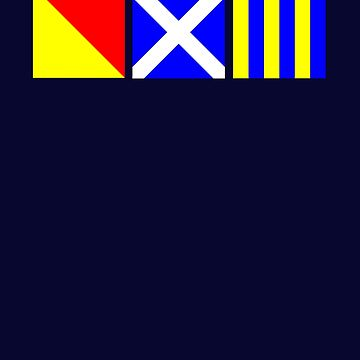 Nautical Flags | OMG Oh My God! by highparkoutlet