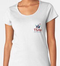 Tsar Experience Logo sans Circle (small) design Women's Premium T-Shirt