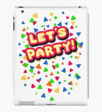 Five Nights at Freddy's - FNAF - Let's Party - Toy Chica iPad Case/Skin