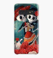 Dia de Los Muertos Couple of Skeleton Lovers Case/Skin for Samsung Galaxy