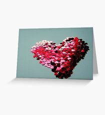 A Million Hearts Beat As One Greeting Card