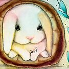 Flopsy the Bunny! By Angieclementine  by Angieclementine