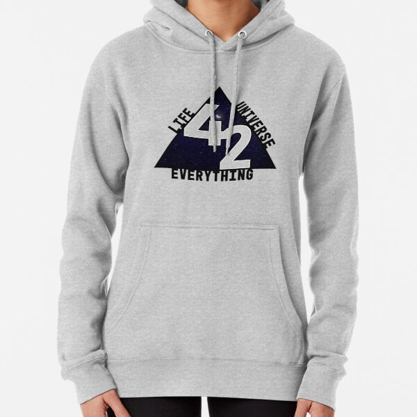The answer is 42 Pullover Hoodie
