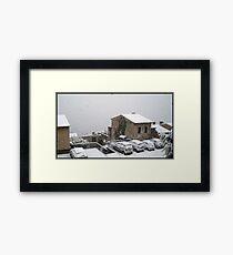 Mantle of snow Framed Print