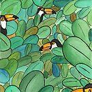 « Toucans Hide & Seek » par avec2ailes