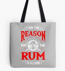 Rum Pirate Alcohol Beer Party Captain Drink Gift Tote Bag