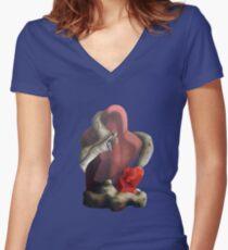 HABITAT Women's Fitted V-Neck T-Shirt